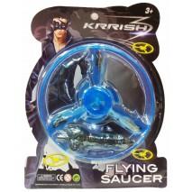 Krrish Pull String Flying Saucer - Blue