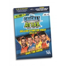 IPL 2014 Cricket Attax Deluxe Starter Pack