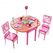 BARBIE DINNER TO DESSERT! Dining Room