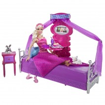 Barbie Bed To Breakfast Bedroom + Doll