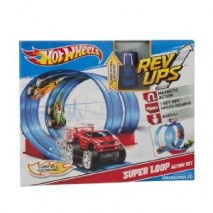 HOT WHEELS AC REV UP SET Hotwheels