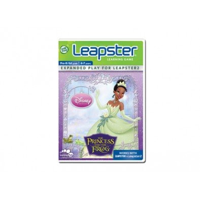 Leap Frog Leapster Learning Game Disney The Princess And The Frog