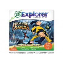 Leap Frog Leapster Learning Game Marvel Wolverine And The X-Men