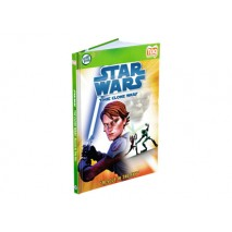 Leap Frog Activity Story Book Star Wars The Clone Wars - Rescue In The Sky