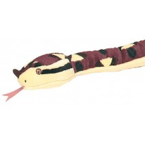 "Snake-70"" Sharp Nose Viper Soft Velboa Wild Republic"