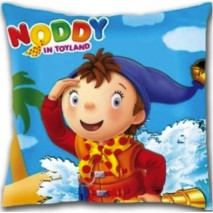 Noddy & Binoculars Square Shaped Cushion