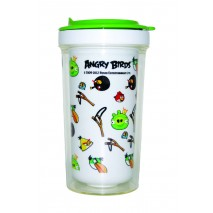 Angry Birds White  Water Bottle