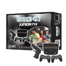 Junior NX 8 bit gaming console with 76 In-built games Mitashi
