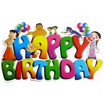 Chhota Bheem Happy Birthday Banner